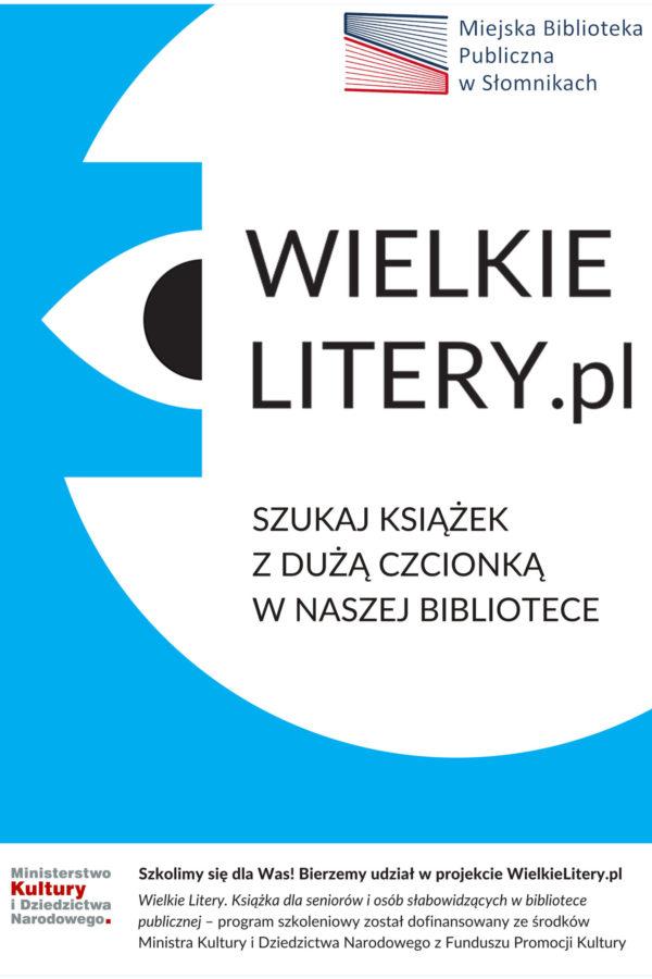 Wielkie Litery – plakat 2